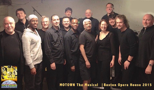 Cast of national tour of Motown in Boston